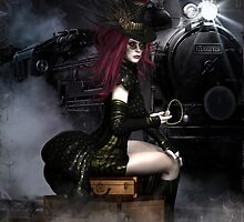 SteamXpress Art Card by Shanina Conway