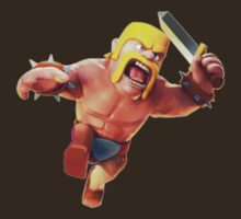Barbarian Clash of Clans by SXArtist