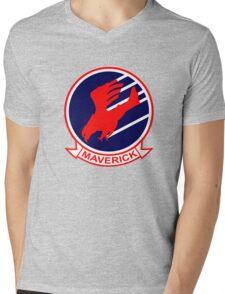 Maverick Mens V-Neck T-Shirt