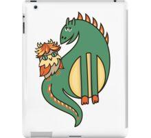 Дракон и совенок iPad Case/Skin