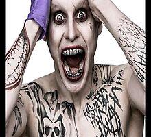 "Jared ""The Joker"" Leto by mikelpegel"