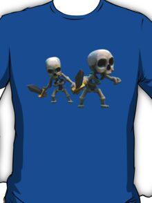 Skeleton Clash of Clans Art T-Shirt