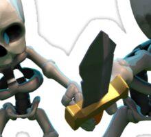 Skeleton Clash of Clans Art Sticker
