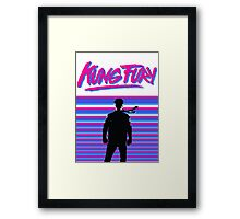 Kung Fury T-shirt Framed Print
