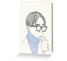 Mino 001 Greeting Card