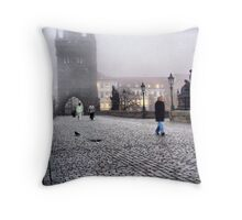 Karluv Most II Throw Pillow