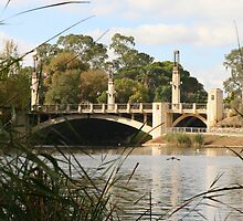 """King William Street Bridge, Adelaide, SA"" by Gail Mew"