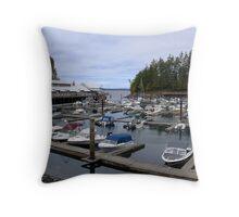 Telegraph Cove Throw Pillow