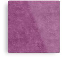 Amethyst Oil Pastel Color Accent Metal Print