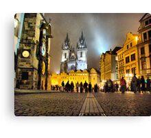 Staroměstské náměstí I Canvas Print