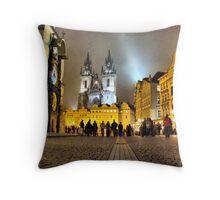Staroměstské náměstí I Throw Pillow