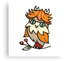 Lovely owlet Canvas Print