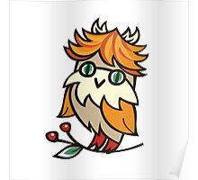 Lovely owlet Poster
