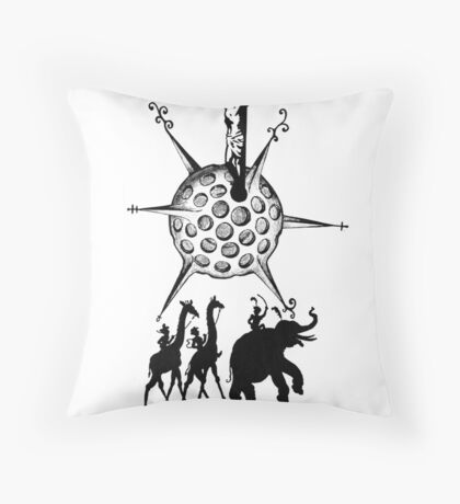 Bethla-Ham Throw Pillow