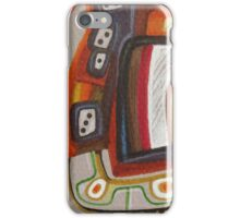 Funky curls iPhone Case/Skin