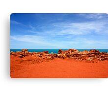 Can Rocks Rust Canvas Print