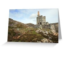 Allihies copper mines Greeting Card