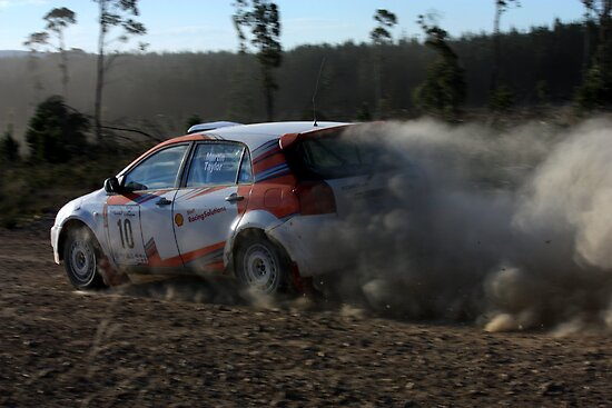 Martin & Taylor - Rally of Lithgow 2009 by Mark  Hodges
