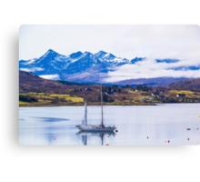 Cuillen Hills Harbor, Isle of Skye, Scotland Canvas Print
