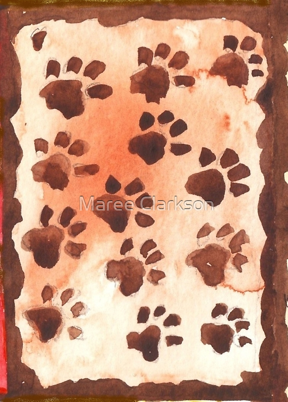 Footprints in Africa - Ethnic series by Maree  Clarkson