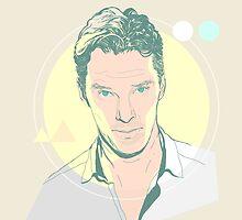 The Cumberbatch's Gaze  by chyworks