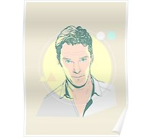 The Cumberbatch's Gaze  Poster