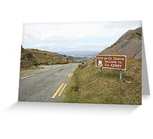 The Healy Pass Greeting Card