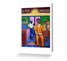 Modern Mariachi Greeting Card