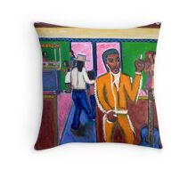 Modern Mariachi Throw Pillow