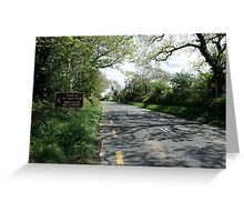 Limerick/Kerry border Greeting Card