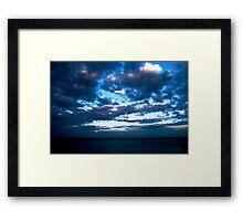 Blue Sky at Night...... Framed Print