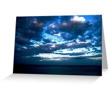 Blue Sky at Night...... Greeting Card