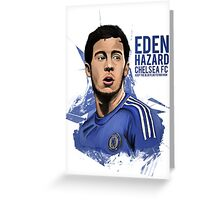 Eden Hazard Greeting Card