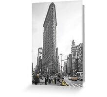 Flat Iron Greeting Card