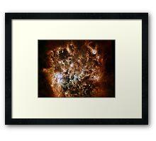 Huge Galaxy Framed Print