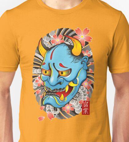 Hanya Demon Mask Unisex T-Shirt