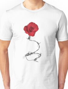 Barbed Rose Unisex T-Shirt