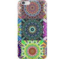 Abstract Mandala Collage iPhone Case/Skin