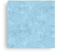 Aquamarine Oil Pastel Color Accent Canvas Print