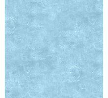 Aquamarine Oil Pastel Color Accent Photographic Print