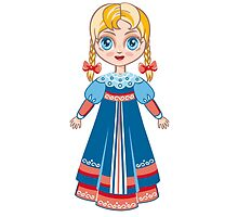 Russian girl by ZoyaMiller