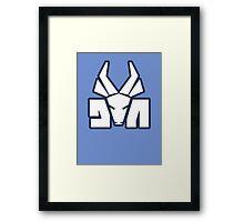 Die Antwoord logo Framed Print