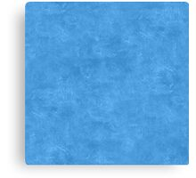 Azure Blue Oil Pastel Color Accent Canvas Print