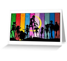 Sailor Moon Splash Art Greeting Card