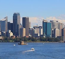 Sydney City Photo - Panorama Greeting Card  by deanworld