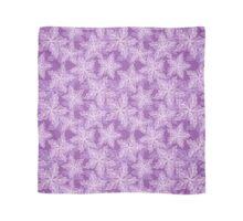 Purple flowers Scarf