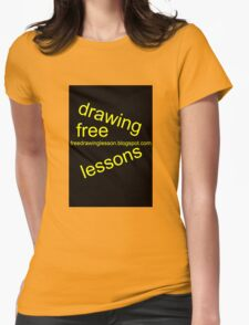 freedrawinglesson 2 Womens Fitted T-Shirt