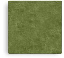 Cedar Green Oil Pastel Color Accent Canvas Print