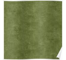 Cedar Green Oil Pastel Color Accent Poster