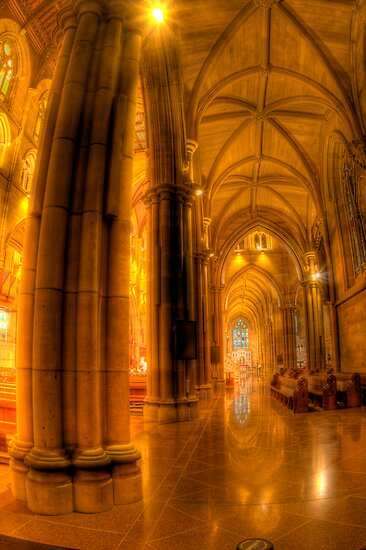 St Mary's Cathedral by Mark van den Hoek